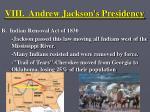 viii andrew jackson s presidency11