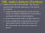 viii andrew jackson s presidency12