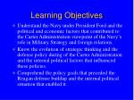 learning objectives18
