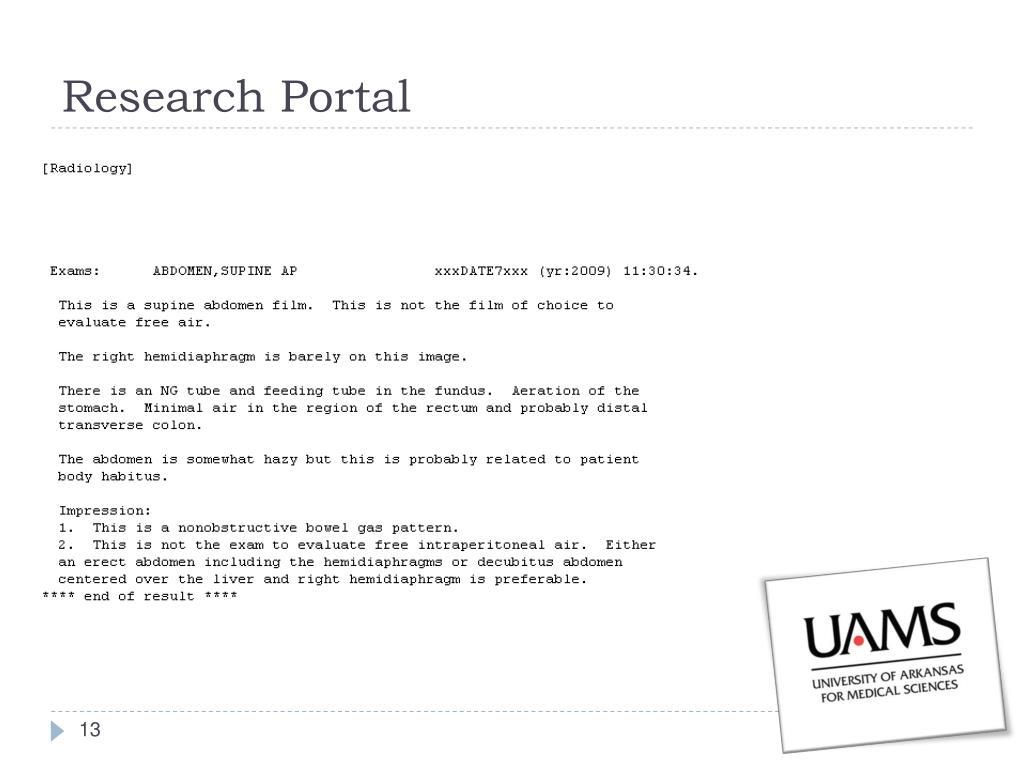 Research Portal
