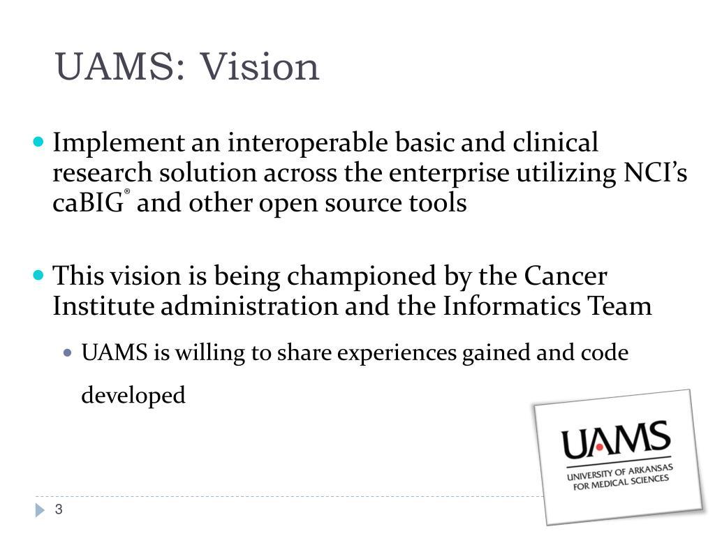 UAMS: Vision