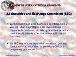 2 3 securities and exchange commision sec