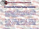 2 4 commodity futures trading commision29