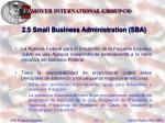 2 5 small business administration sba31
