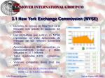 3 1 new york exchange commission nyse