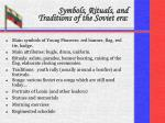 symbols rituals and traditions of the soviet era