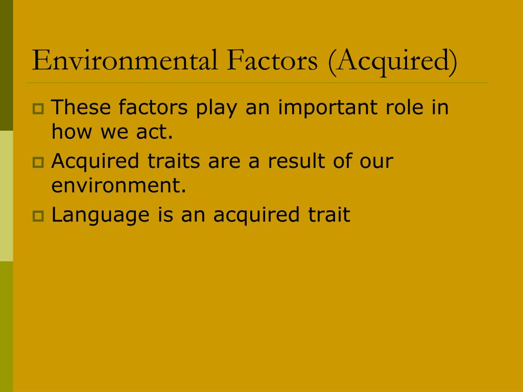 environmental traits - photo #22