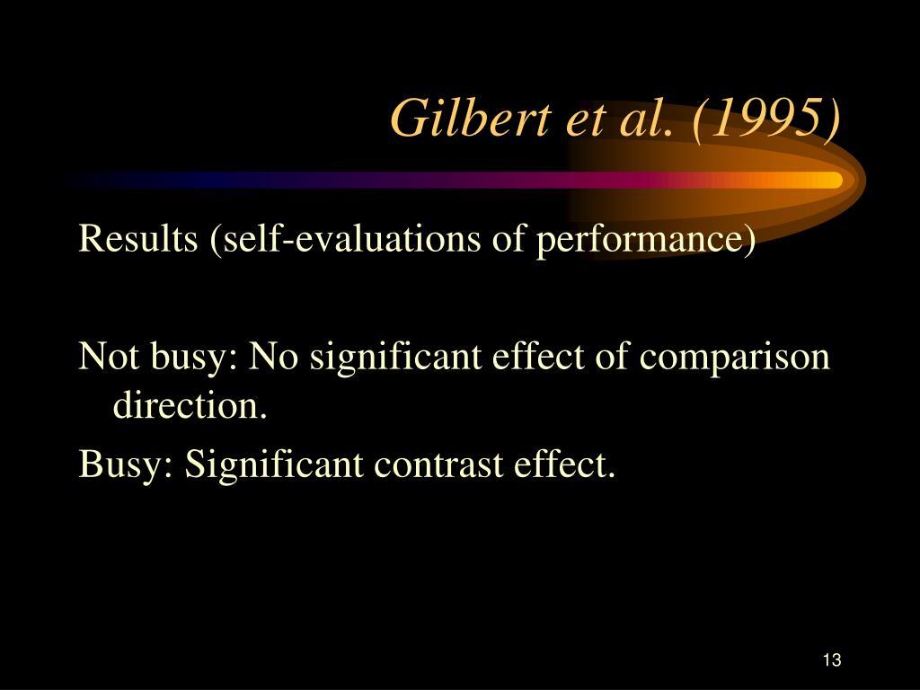 Gilbert et al. (1995)