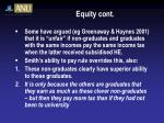 equity cont