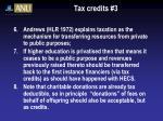 tax credits 3