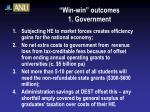 win win outcomes 1 government