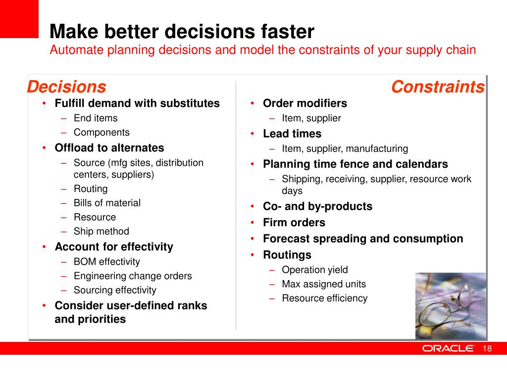 Make better decisions faster
