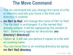 the move command