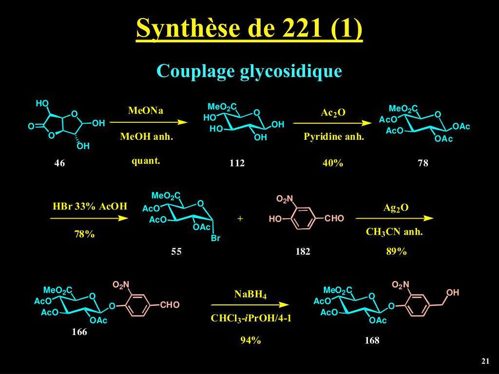 Synthèse de 221 (1)