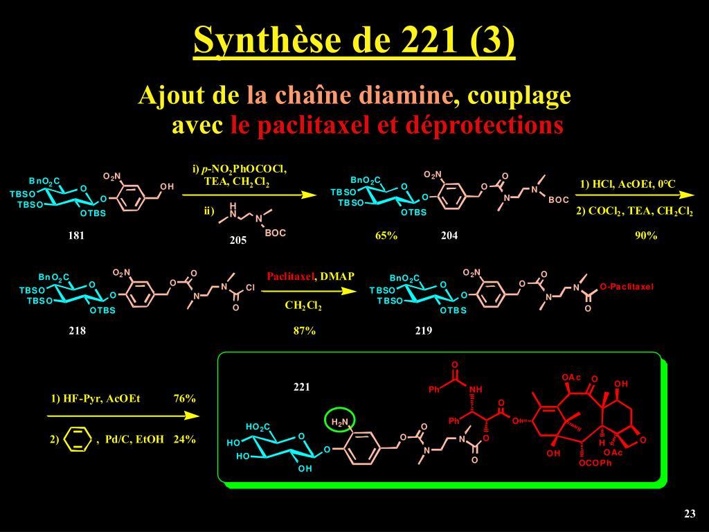 Synthèse de 221 (3)