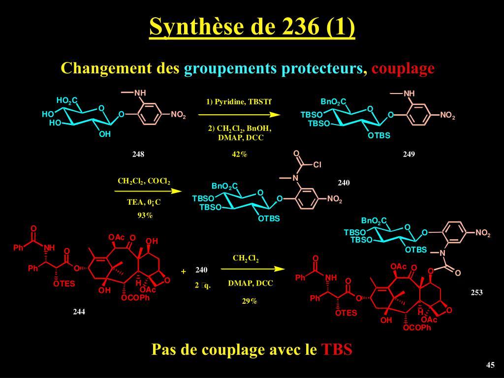 Synthèse de 236 (1)