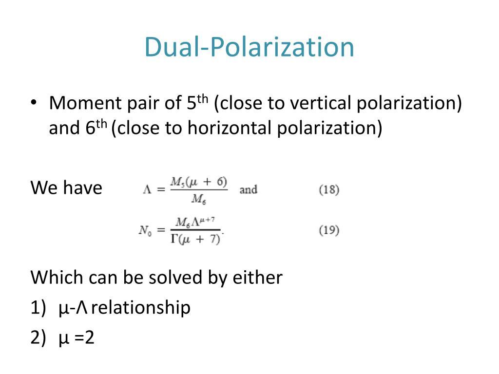 Dual-Polarization