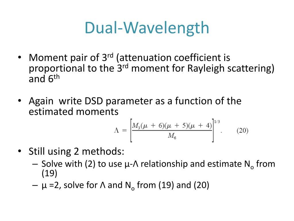 Dual-Wavelength