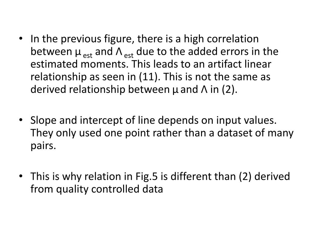 In the previous figure, there is a high correlation between