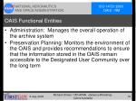 oais functional entities16