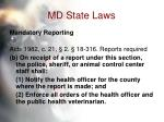 md state laws54