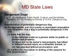 md state laws68