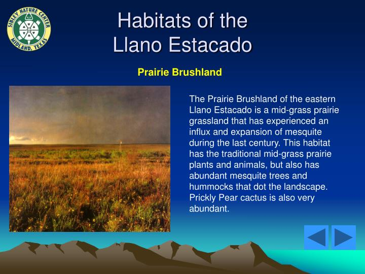 Habitats of the