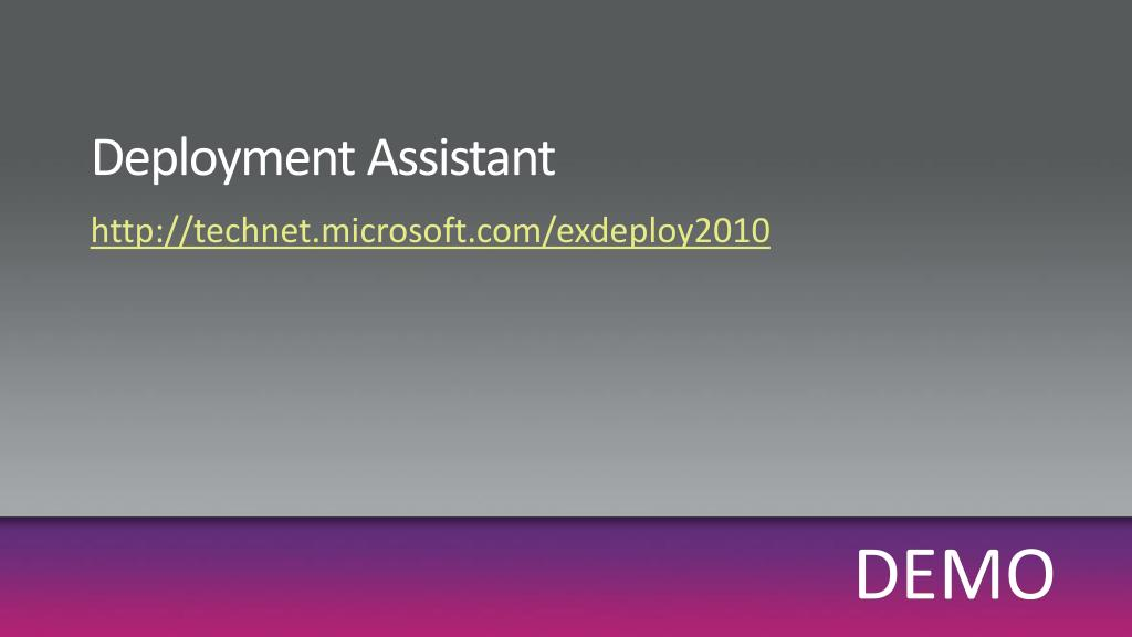 Deployment Assistant