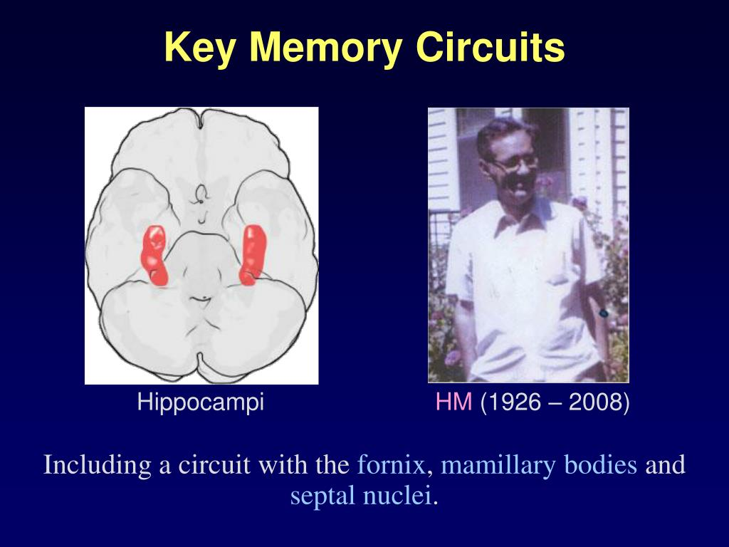 Key Memory Circuits