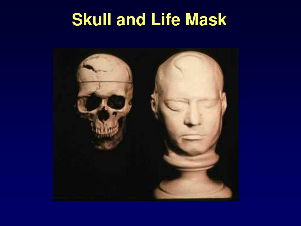 Skull and Life Mask