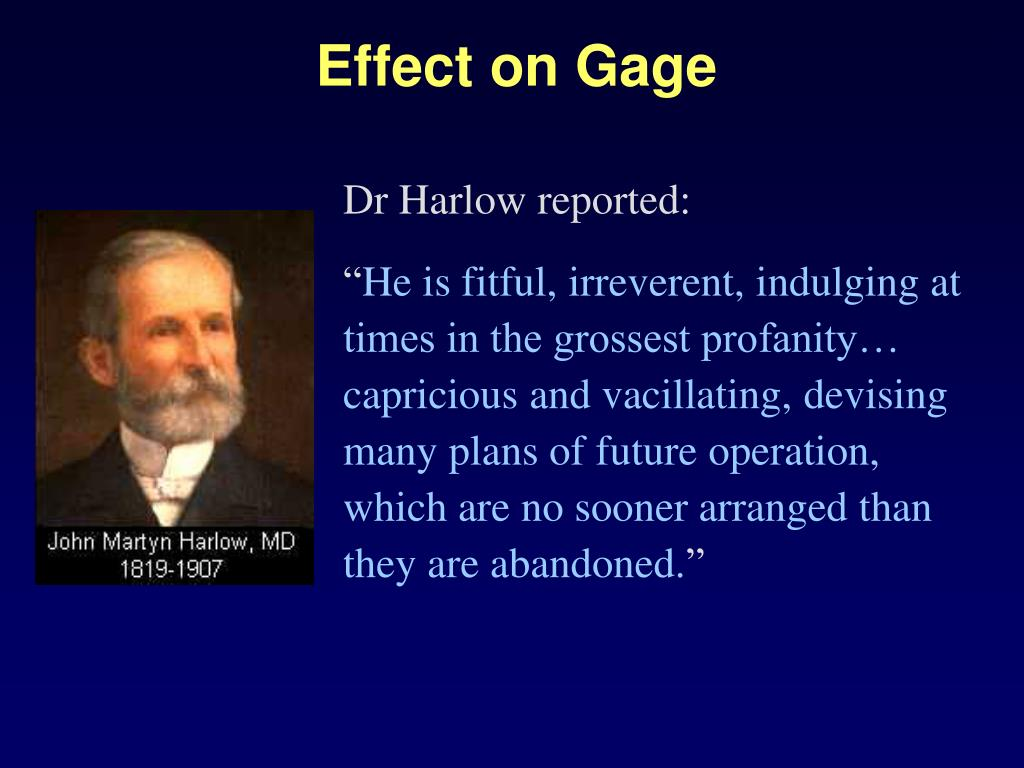 Effect on Gage