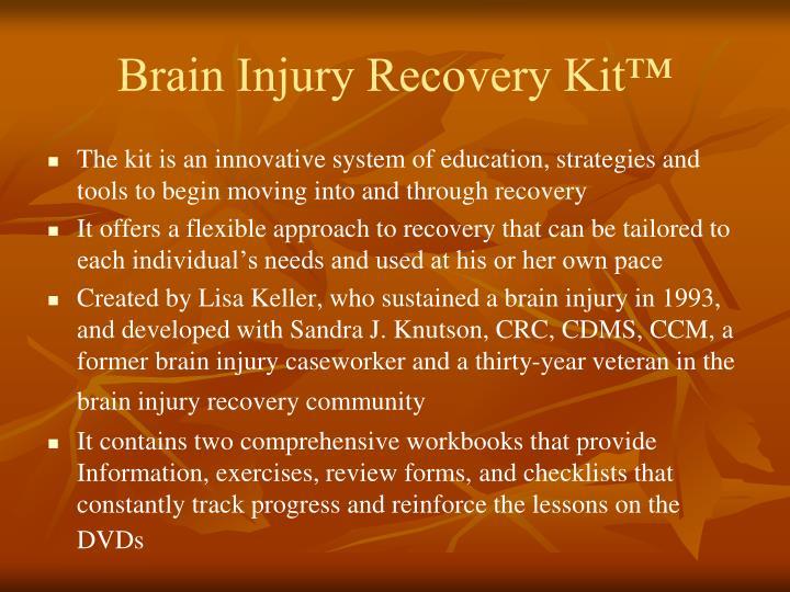 Brain Injury Recovery Kit™