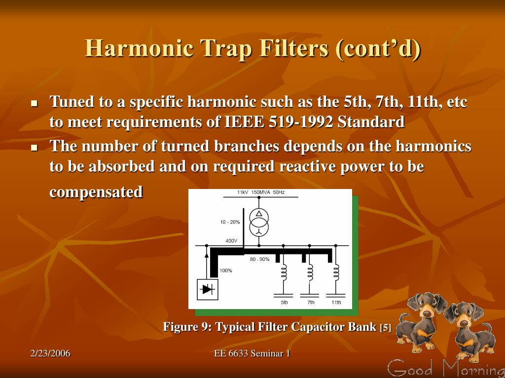 Harmonic Trap Filters (cont'd)
