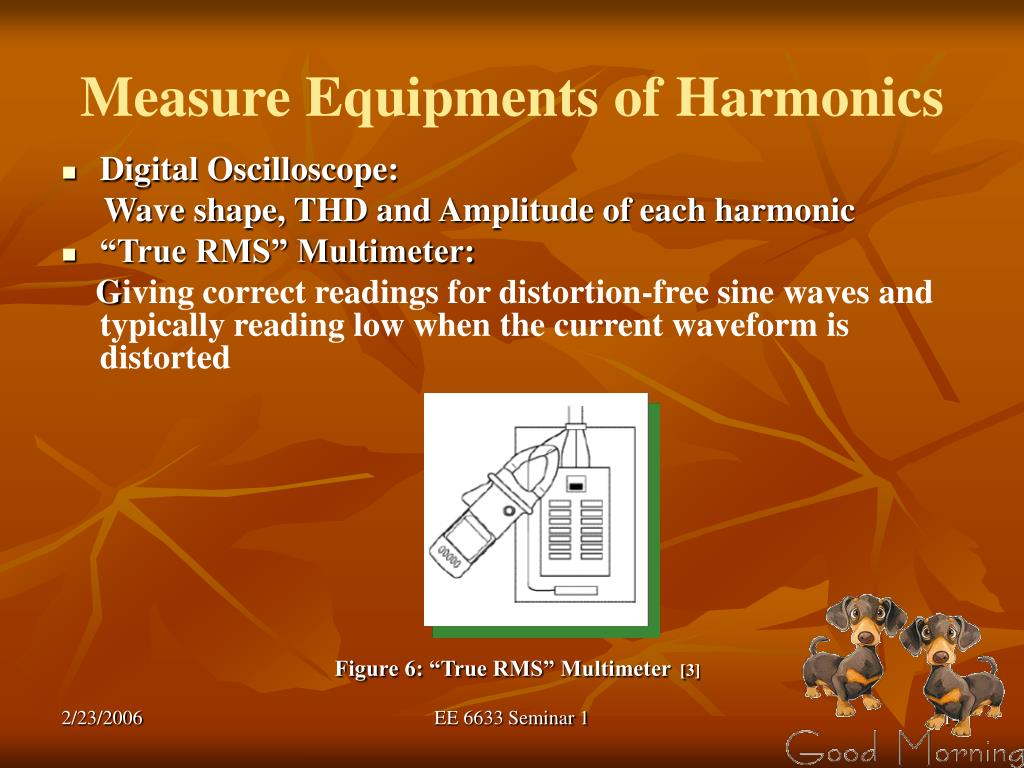 Measure Equipments of Harmonics