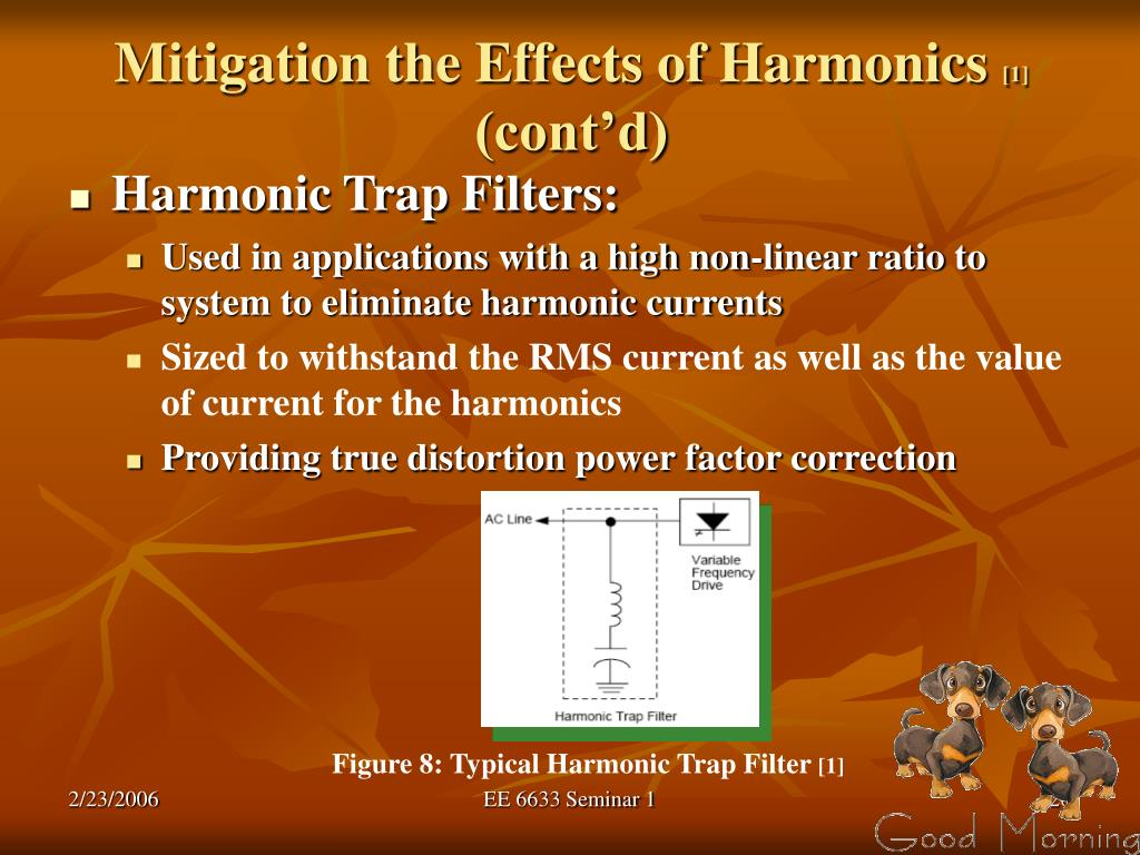 Mitigation the Effects of Harmonics
