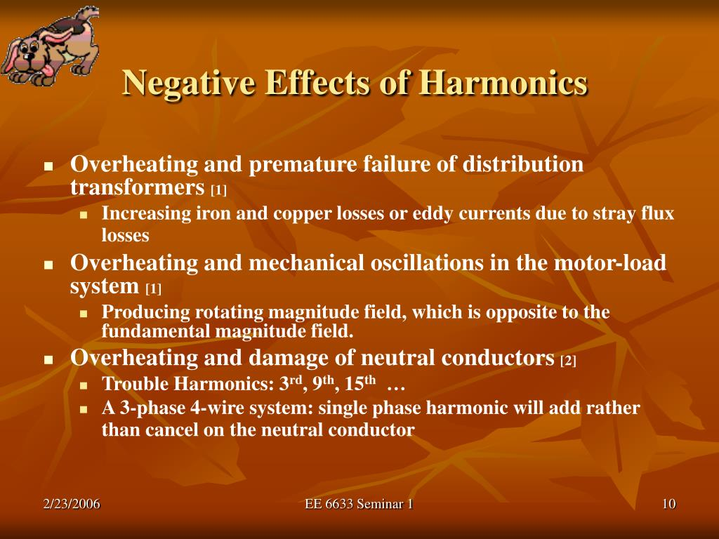 Negative Effects of Harmonics