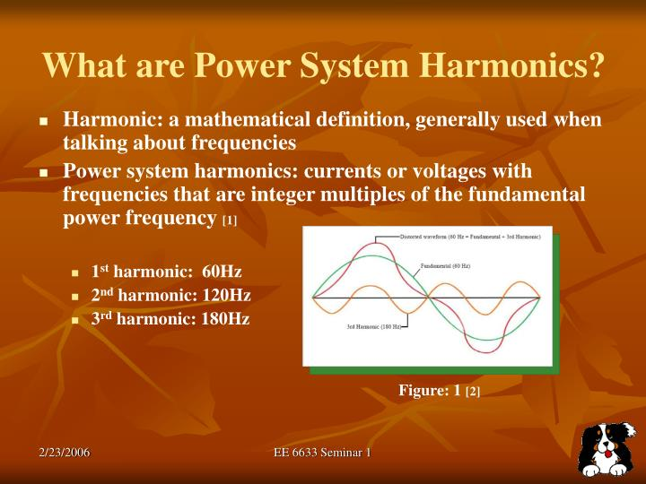 What are power system harmonics