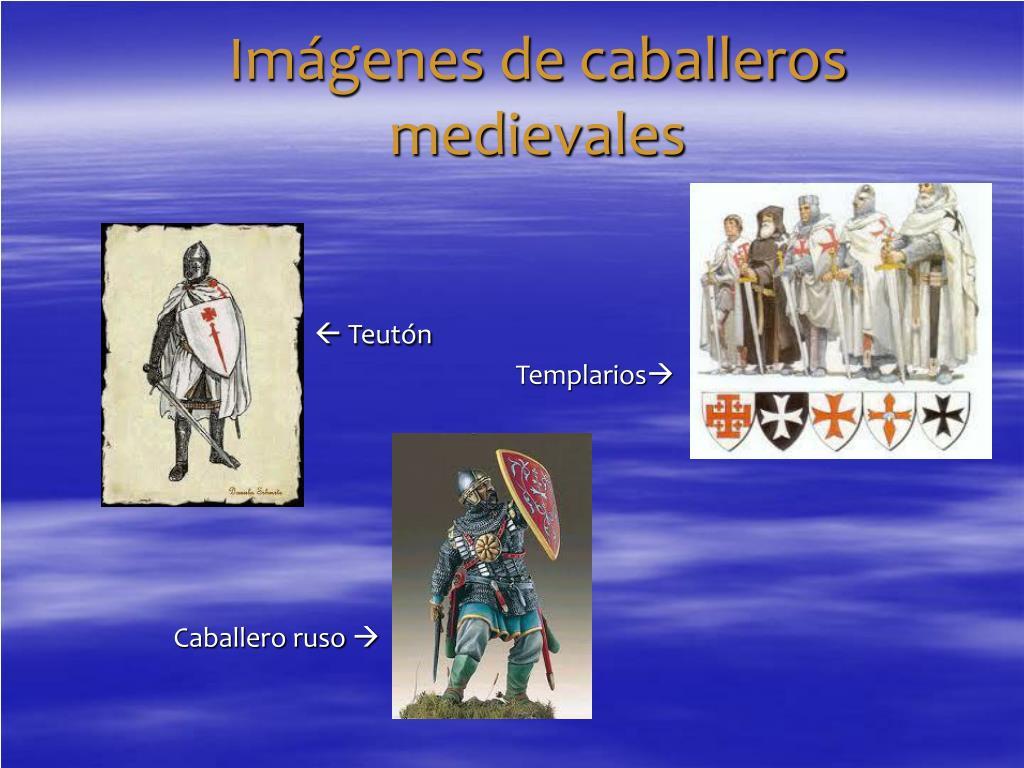 Imágenes de caballeros medievales
