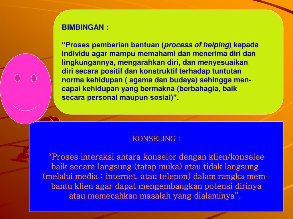 BIMBINGAN :