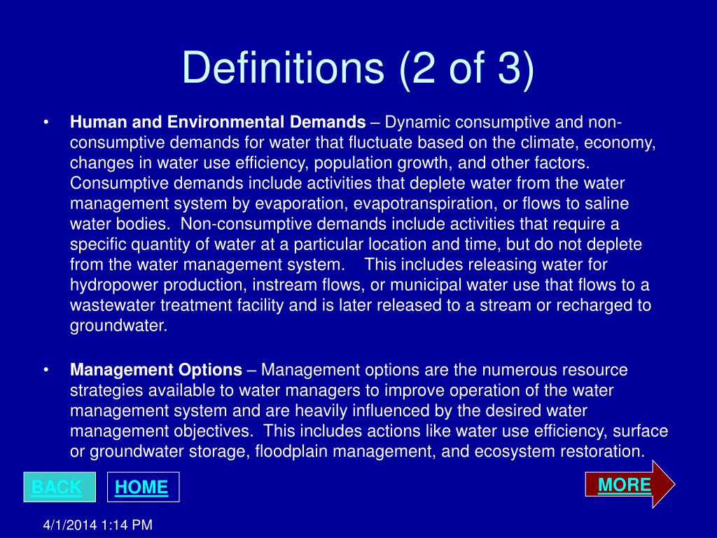 Definitions (2 of 3)