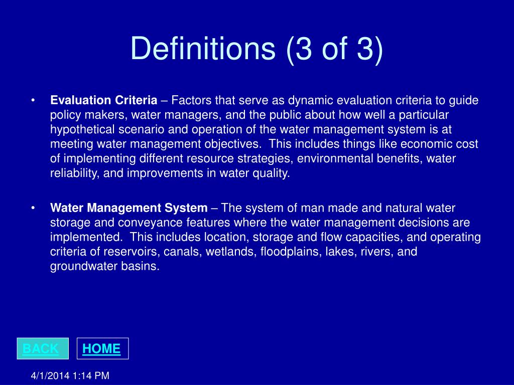 Definitions (3 of 3)