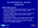environmental water demands26