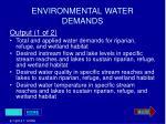 environmental water demands28