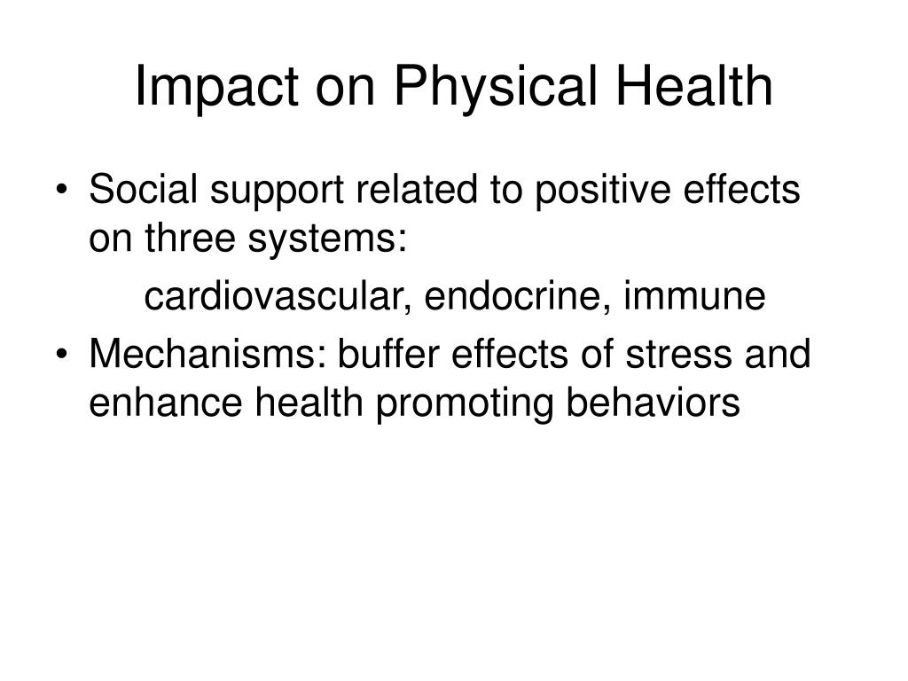 Impact on Physical Health