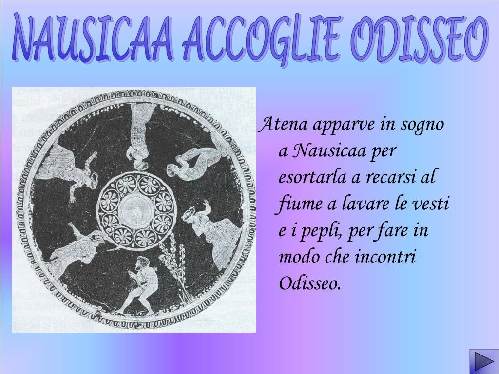 NAUSICAA ACCOGLIE ODISSEO