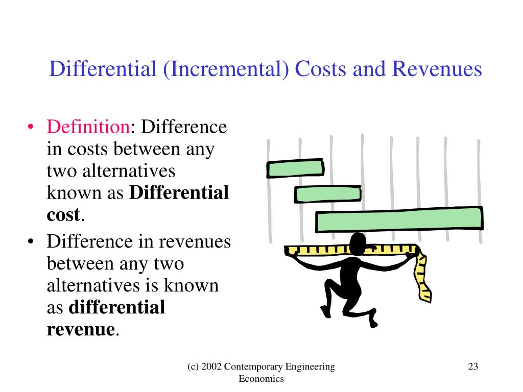 Differential (Incremental) Costs and Revenues