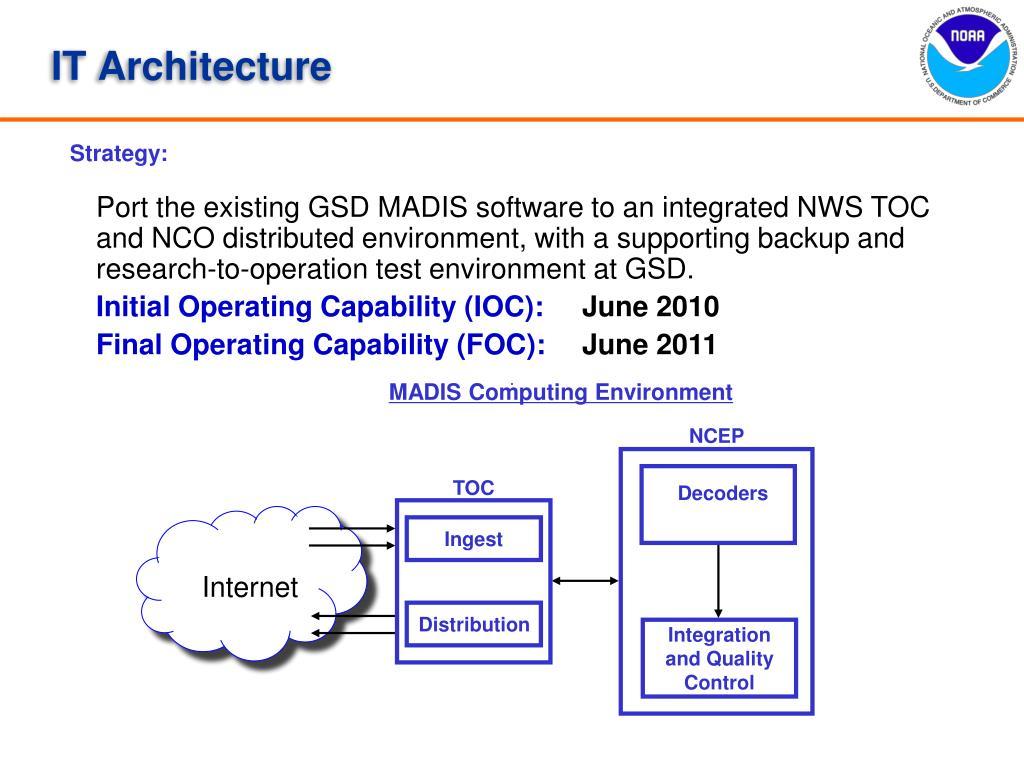 MADIS Computing Environment