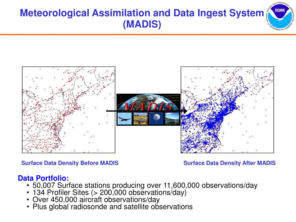 Meteorological Assimilation and Data Ingest System (MADIS)
