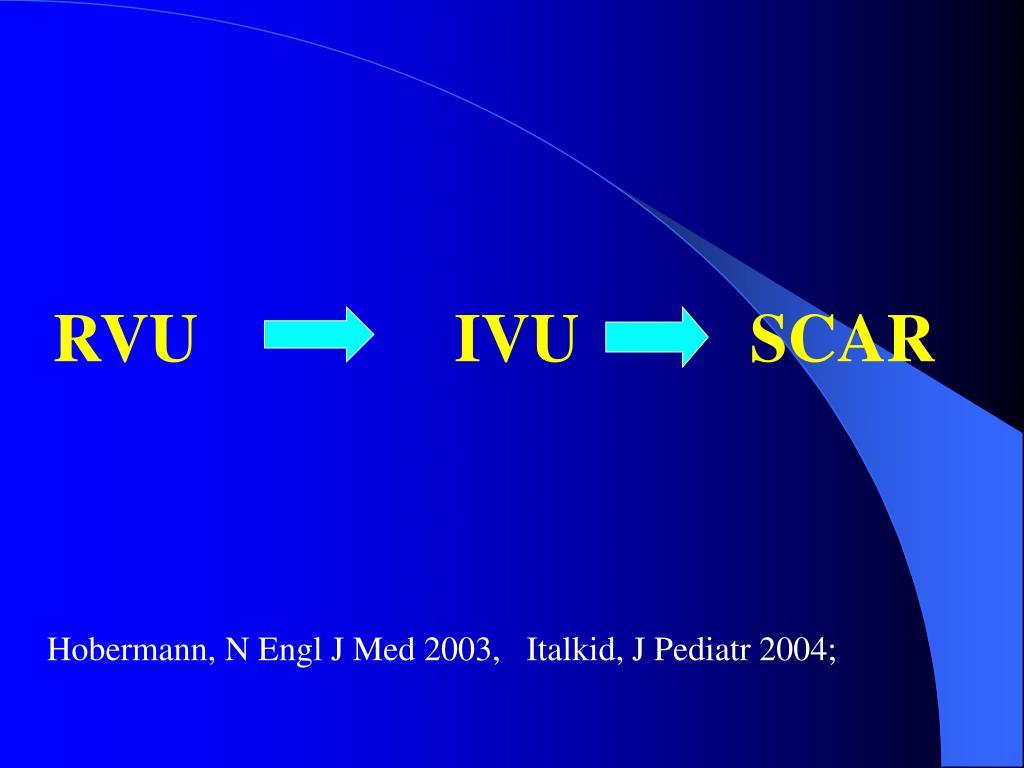 RVU               IVU          SCAR