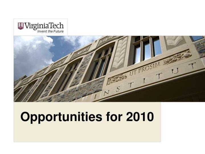 Opportunities for 2010 l.jpg